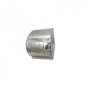 Stainless Steel Toilet Roll Dispenser (Full Cover)