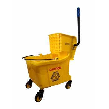Single Mop Bucket - 32L (Side Press)