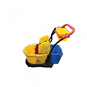 Single Mop Bucket c/w Extra Bucket - 32L