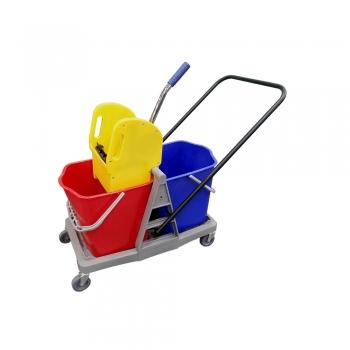 Double Mop Bucket (Plastic Frame)