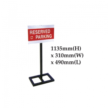 Reserved Parking Stand
