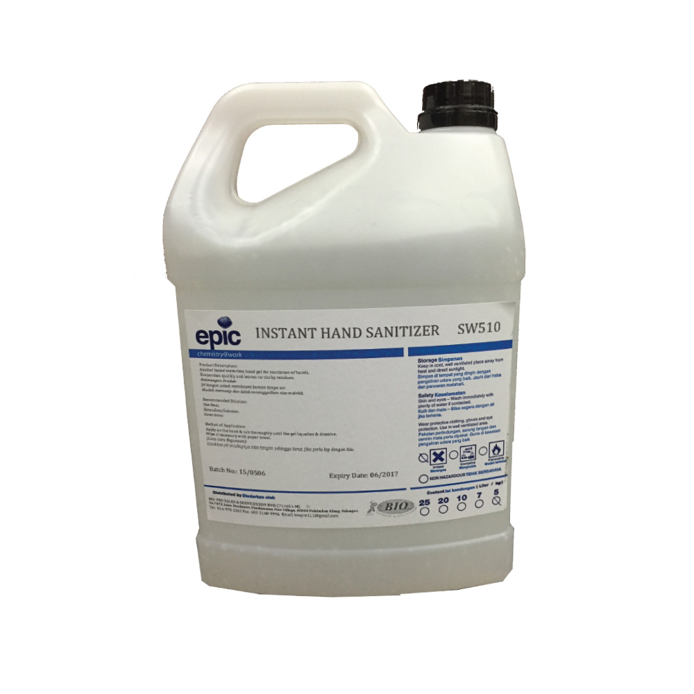 Hand Sanitizer Mist 5l Cleaning Chemical Supplier Malaysia