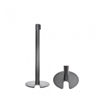 Stainless Steel Stackable Q-Up Stand - Black