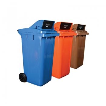 Recycle Bins c/w Turbo Lid 120L / 240L
