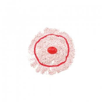 Red Color Strip Circular Mop 300gm