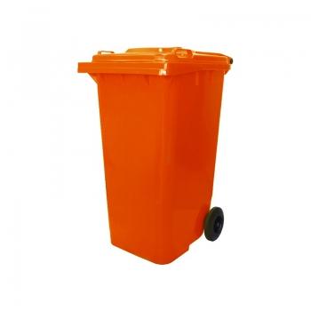 120L & 240L Orange Garbage Bin
