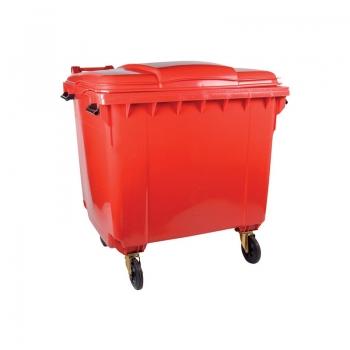 Mobile Garbage Bin (Orange) - 660L