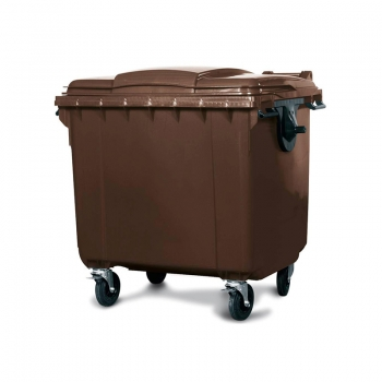 Mobile Garbage Bin (Brown) - 660L