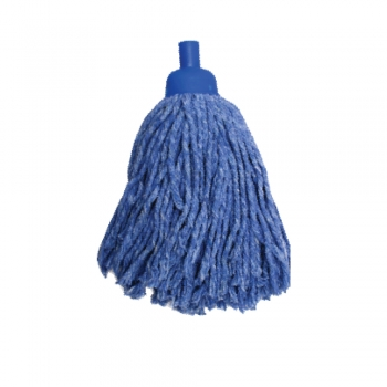 Blue Colour Round Mop 300gm