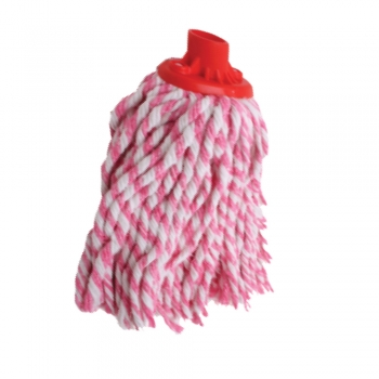 Semi Red Colour Round Mop 300gm