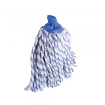 Semi Blue Colour Round Mop 300gm