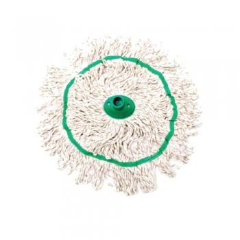Green Colour Cotton Circular Mop 300gm