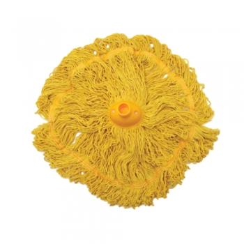 Yellow Colour Circular Mop 300gm