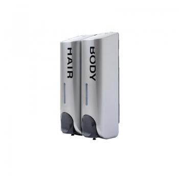 Hair & Body Dispenser 350ml x2 (Grey)