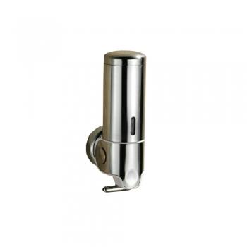 Stainless Steel Soap Dispenser 400ml (Round Body)
