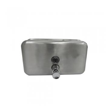 Stainless Steel Soap Dispenser 1200ml - horizontal