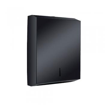 Black Stainless Steel Multi Fold Dispenser (Big)