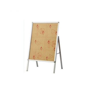 A1 Stainless Steel Signagboard Stand - Single Face