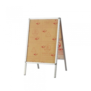 A1 Stainless Steel Signagboard Stand - Double Face