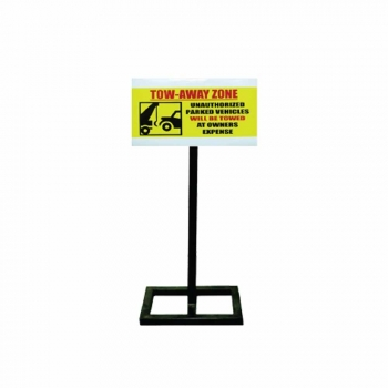 Tow-Away Zone Stand