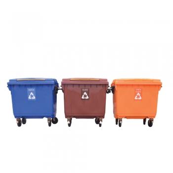 Recycle Mobile Garbage Bin 660L(3 in 1)