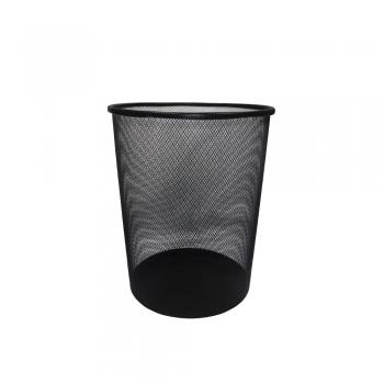 Metal Paper Bin - Round