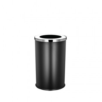 Powder Coated Round Bin c/w Open Top (SS 107-B)