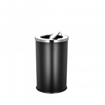 Powder Coated Round Bin c/w Flip Top (SS 106-B)
