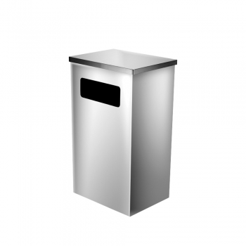 Stainless Steel Rectangular Bin c/w Flat Top (SS 111)