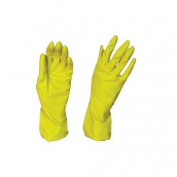 Rubber Hand Gloves-Yellow