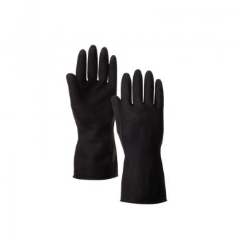 Rubber Hand Gloves-Black