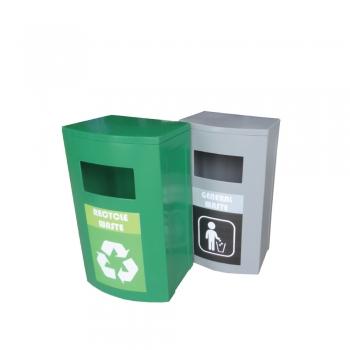 Initial FT 120 Recycle Bin 2 in 1