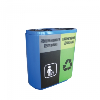 Joint FRP Recycle Bin 2 in 1