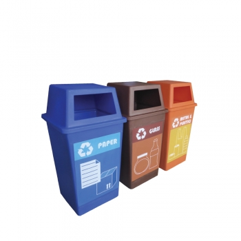 Pulau Recycle Bin 3 in 1