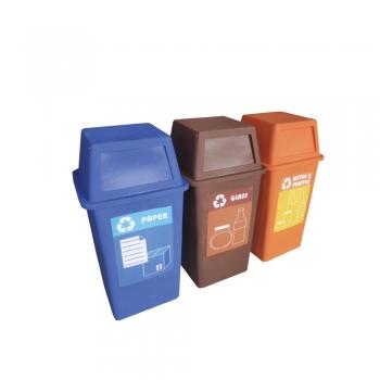 Pulau FD Recycle Bin 3 in 1