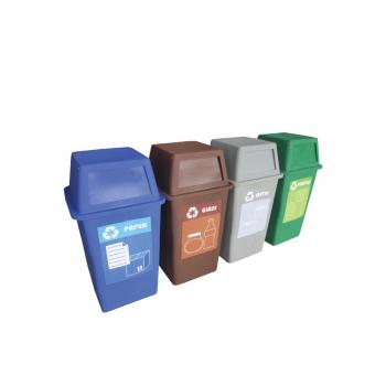 Pulau FD Recycle Bin 4 in 1
