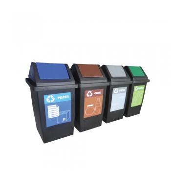 Flip Recycle Bin 4 in1