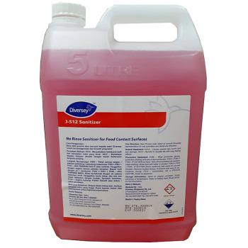 Diversey J-512 Sanitizer (No Rinse Sanitizer)