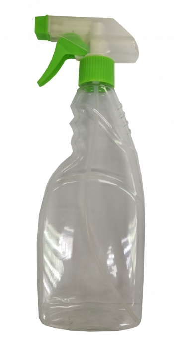 500ml Spray Bottle C/W Green Head