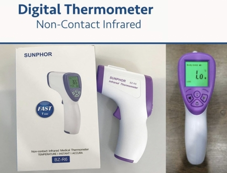 Digital Thermometer - Non Contact Infrared