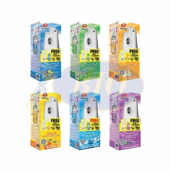 Airnergy Automatic Air Freshener Dispenser - Value Pack