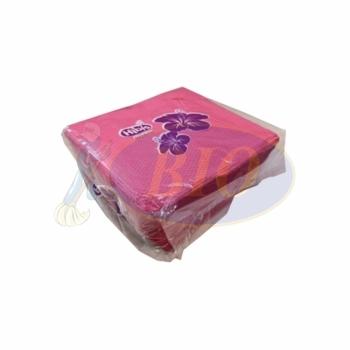 Pink Rose Napkin Tissue - Pulp