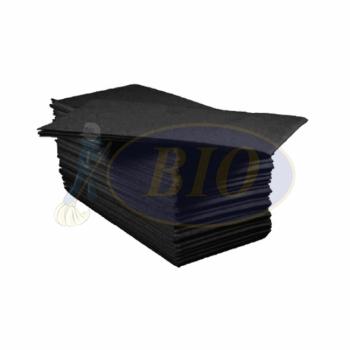 Black Dinner Napkin Tissue - Pulp