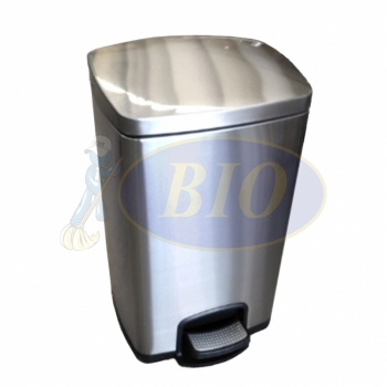 Stainless Steel Pedal Bin (Square) – 20L / 30L