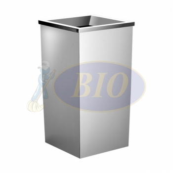 Stainless Steel Bin Square C/W Open Top (SS110-L)
