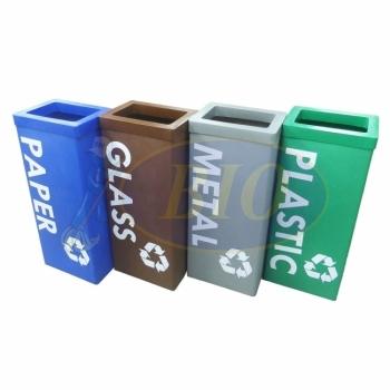 Karipop 80 LL-Recycle Bin 4-in-1 c/w Bag Holder