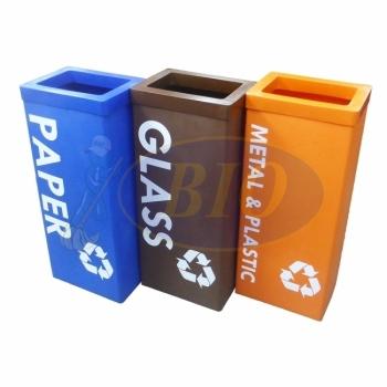 Karipop 80 LL-Recycle Bin 3-in-1 c/w Bag Holder