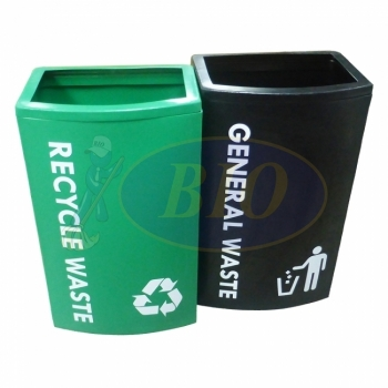 Initial OT 120 LL-Recycle Bin 2-in-1 c/w Bag Holder