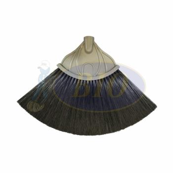 Nylon Paddy Broom Black (Soft)