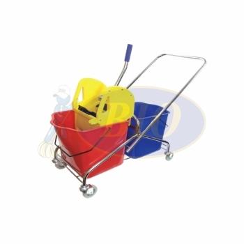 Double Mop Bucket (Metal Frame)